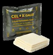 CELOX Z-Fold Hemostatic Gauze, 5' length