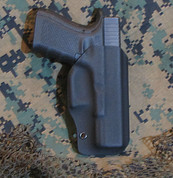 "CMS Kydex Outside the Waistband Holster ""The Patriot"""