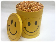 Smiley Face Gift Tin - 3.5 Gallon
