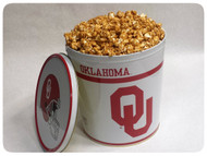 Oklahoma Sooners Gift Tin - 3.5 Gallon