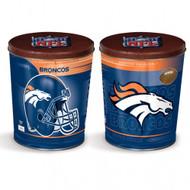 Denver Broncos Gift Tin - 3.5 Gallon