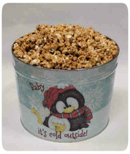 Baby It's Cold Outside Holiday Gift Tin - 3.5 Gallon