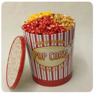 Retro Popcorn Gift Tin - 3.5 Gallon