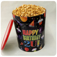 Happy Birthday Gift Tin - 3.5 Gallon