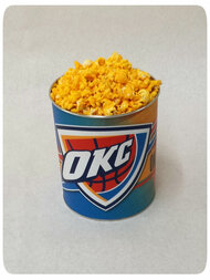 Oklahoma City Gift Tin - 1 Gallon