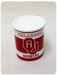 Oklahoma Sooners Gift Tin - 1 Gallon