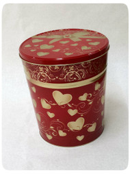 Hearts Gift Tin - 3.5 Gallon