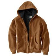 2xl Tall Brn Qfl Jacket