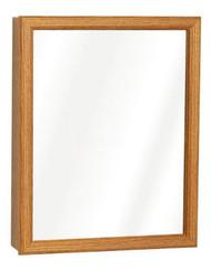 16x20 Oak Med Cabinet