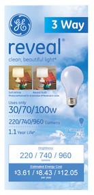3w 30/70/100w Bulb