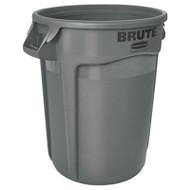 20gal Gry Trash Can