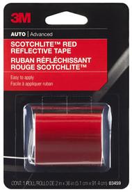 2x36 Red Refl Safe Tape