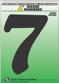 """6"""" Blk Plas Number 7"""