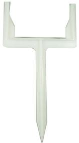 11x5 Wht Downspout Post