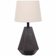 """22"""" Mahogany Table Lamp"""