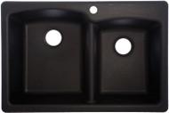 Onyx22x33 Dbl Bowl Sink