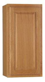 15x30 Oak Wall Cabinet