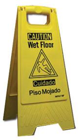 Yel Wet Floor Sign