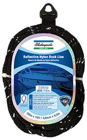 1/2x25 Blk Dock Line
