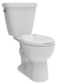 Prel 2pc Wht Rnd Toilet