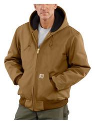 2xltall Brn Duck Jacket