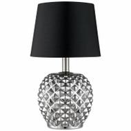 "18.75"" Chr Table Lamp"