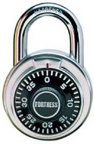 "1-7/8"" Ss Combo Lock"
