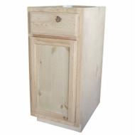 "15"" Pine Base Cabinet"