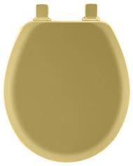 Gld Rnd Wd Toilet Seat
