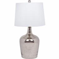 "24"" Crac Chr Table Lamp"
