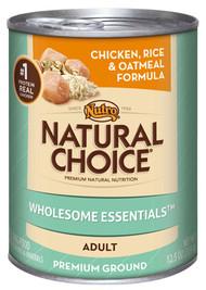 Nat12.5oz Chic Dog Food