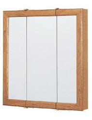 """24"""" Oak Tri Med Cabinet"""