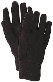 3pk Lg Brn Jersey Glove