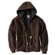 2xl Reg Brn Qfl Jacket