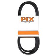 1/2x107 Blk Rubb V-belt
