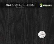 Black Woodgrain Classy True Wood Realistic Hydrographic Pattern Dip Film Big Brain Graphics Hydrographics Supplier USA Gunmetal Grey Base Quarter Reference