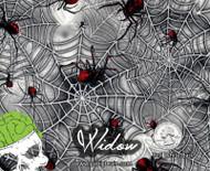Widow Black Widow Spiders Web Webbing Spiderweb Hydrographics Film Pattern Big Brain Graphics Dip Film Buy Yeti White Base Quarter Reference