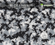 Snow Digital Camo  - 232.5 (50 CM)