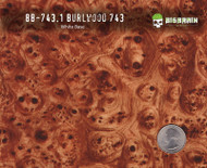 Burlwood Medium 743 Hydrographics Pattern Film Buy Dipping Big Brain Graphics Seller White Base Quarter Reference