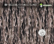 Small Black Silver Flames 453 Hydrographics Pattern Film Buy Dipping Big Brain Graphics Seller White Base Quarter Reference