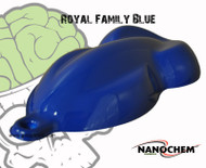 Royal Family Deep Blue Hydrographics Paint Big Brain Graphics Speed Shape