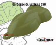 OD Green Olive Drab Army Military Green Paint NanoChem Big Brain Graphics Hydrographics Paint