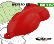 Wolfpack Red Wolf Red Deep Nanochem Big Brain Graphics Paint Color Hydrographics Paint Ready To Spray