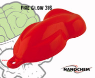 Fire Glow Orange Red Pigmented Paint High Quality Hydrographics Big Brain Graphics Bright Color