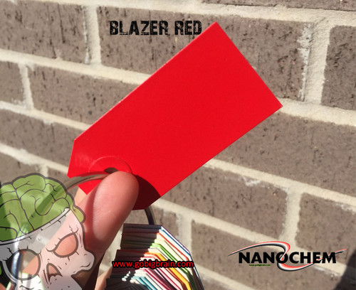 Blazer Red NanoChem Paint color Ready to Spray Big Brain Graphics Hydrographics Paint Big Brain Graphics Paint Supplier Superior Coverage
