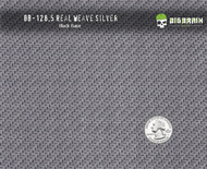 Real Weave Bold True Carbon Fiber Hydrographics Patterns Big Brain Graphics Black Base Quarter Reference
