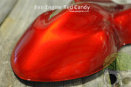 Fire Engine Red Big Brain Graphics Automotive Clear Gloss Flat Additive High Quality