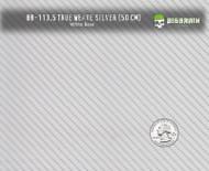 True Weave Detailed Carbon Fiber Metallic Silver Hydrographics Pattern Film White Base Buy Big Brain Graphics Quarter Reference
