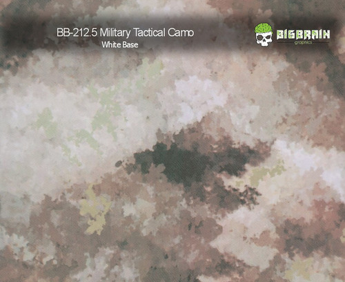 Military Field Tactical 212 Hydrographics Pattern Film Buy Dipping Big Brain Graphics Seller White Base