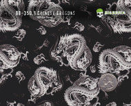 Chinese Dragons 350 Hydrographics Pattern Film Buy Dipping Big Brain Graphics Seller White Base Quarter Reference